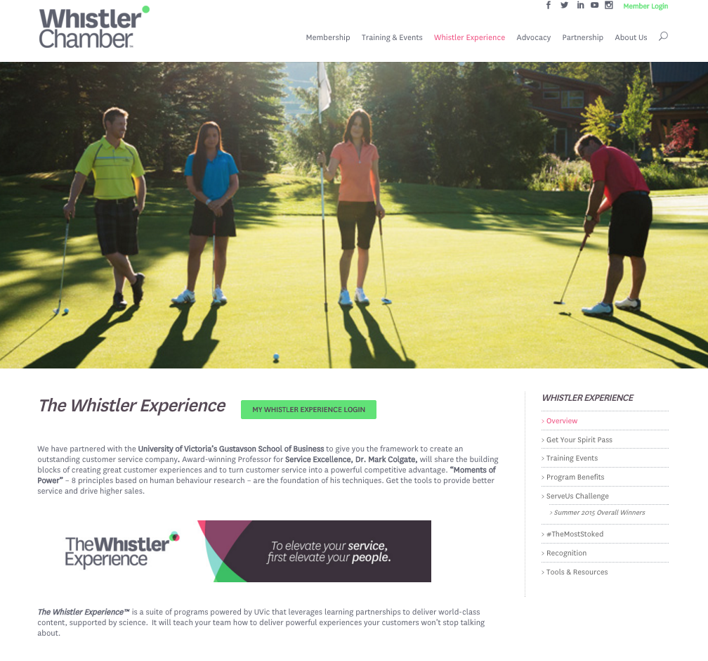 Whistler Chamber of Commerce
